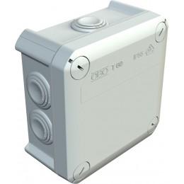 Расп. коробка T60, влагозащищенная, IP 66, 114x114x57 мм